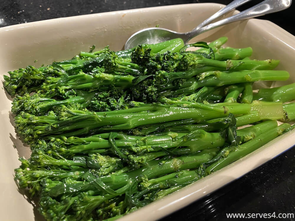Best Family Vegetarian Recipes: Sesame Soy Broccolini