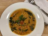 Easy Family Vegan Dinner Recipes: Lentil Coconut Curry Soup