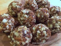 Baby Snack Idea: Raw Fig and Almond Bites