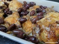 Baked Chicken with Olives and Rosemary