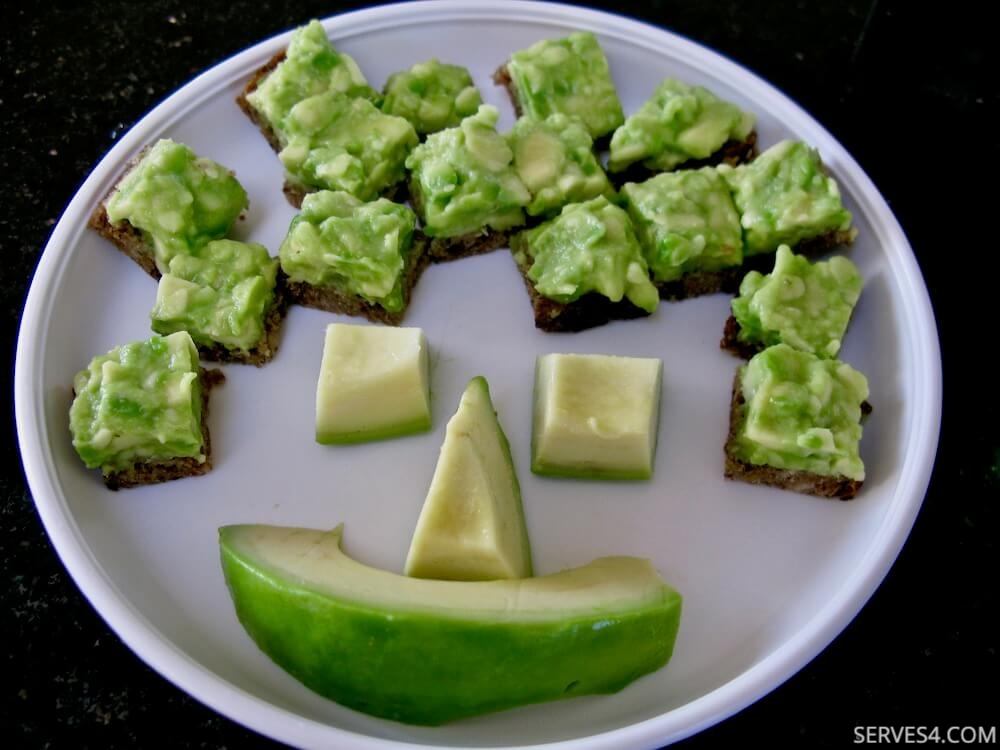 Baby Finger Foods: Avocado on Toast