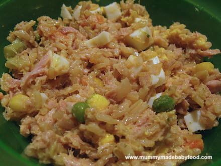Baby Rice Recipe: Easy Kedgeree