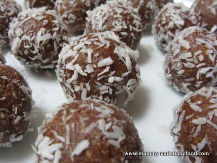 Baby Snack Idea: Raw Chocolate Truffles