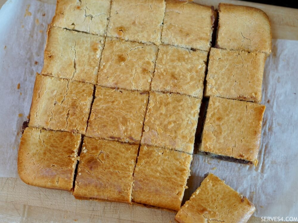 Best Baking Recipes: Baked Sticky Rice Cake with Red Bean Paste (红豆 烤年糕)