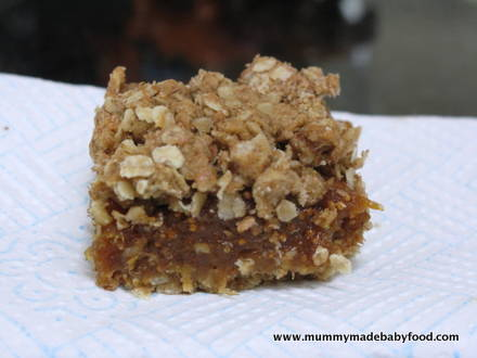 Fig Bars with Oats