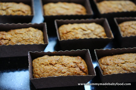 Home Made Cake: Sugar-Free Mini Carrot Loaves