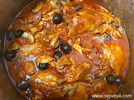 Best Family Instant Pot Recipes: Chicken Cacciatore