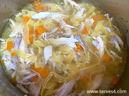 Best Family Instant Pot Recipes: Chicken Noodle Soup