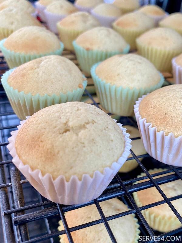 Mini Vanilla Cupcake Recipe