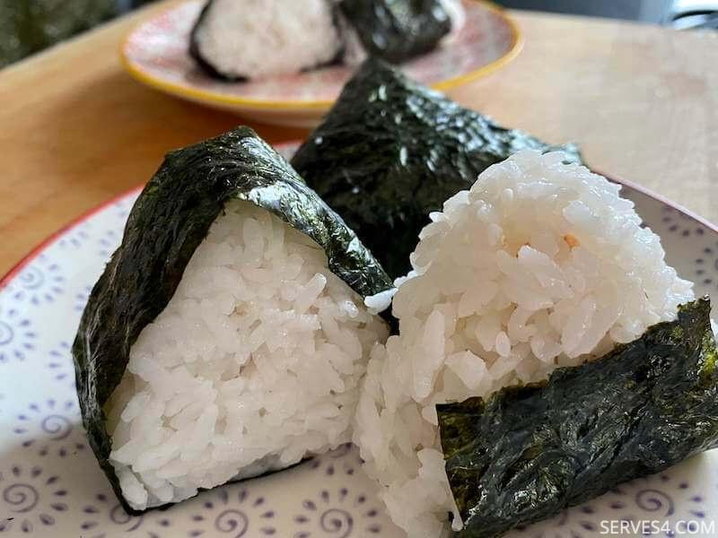 Onigiri with Salmon