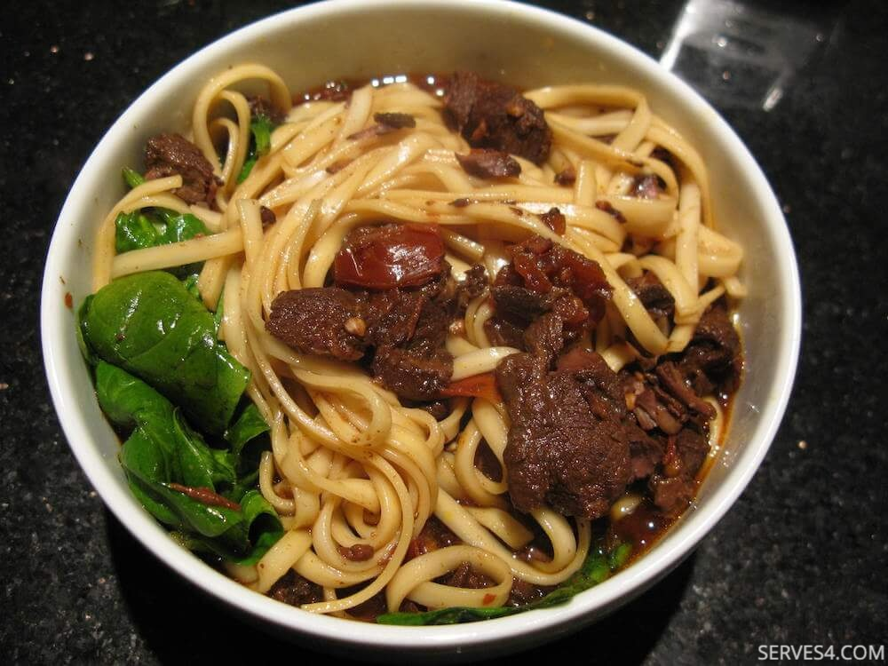 Easy Beef Dinner Recipes: Red Braised Beef Noodle Soup (红烧牛肉面)
