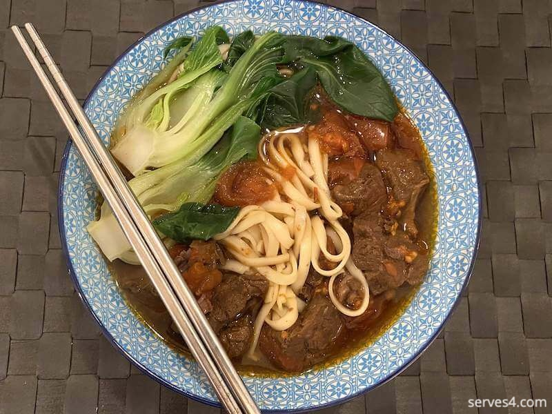 Rice and Noodle Recipes: Red Braised Beef Noodle Soup (Hong Shao Niu Rou Mian | 红烧牛肉面)