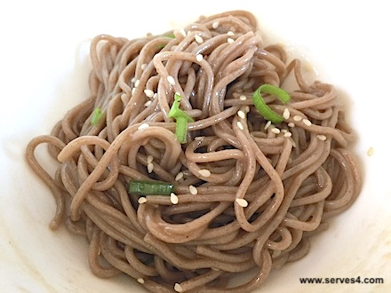 Vegetarian Baby Recipes: Sesame Soba Noodles