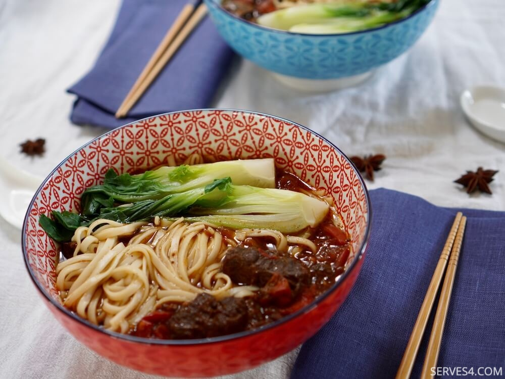Red Braised Beef Noodle Soup (红烧牛肉面)