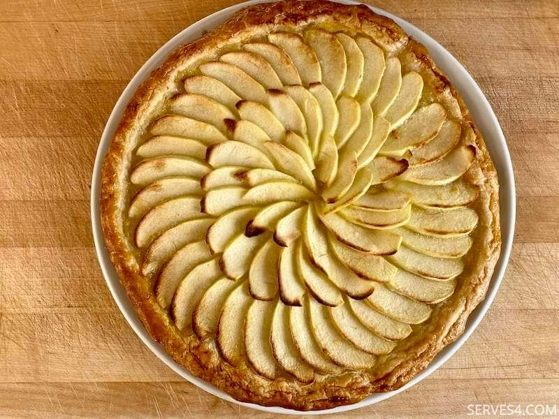 Easy French Apple Tart