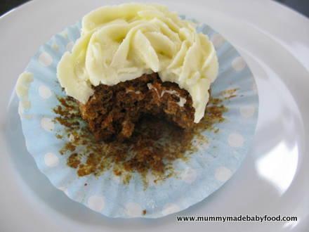 Home Made Cake: Carrot Cupcakes