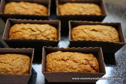 Home Made Cake: Sugar-Free Mini Carrot Loaves