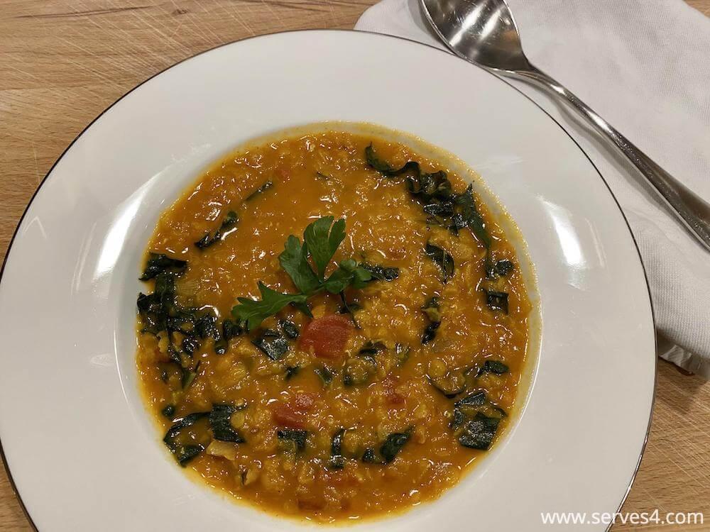Easy Family Vegan Dinner Recipes: Lentil Coconut Curry Soup