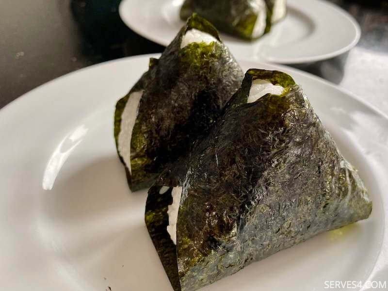 Baby Finger Foods: Onigiri with Salmon